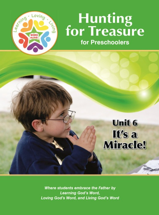 Hunting for Treasure Handout for Children Unit 6