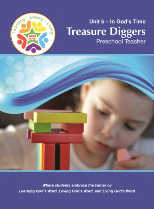 Treasure Diggers Preschool Teacher Unit 5