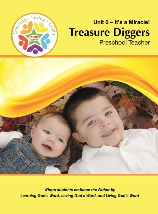Treasure Diggers Preschool Teacher Unit 6