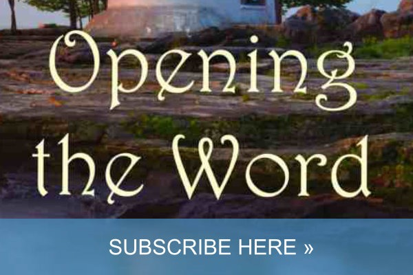 opening the word